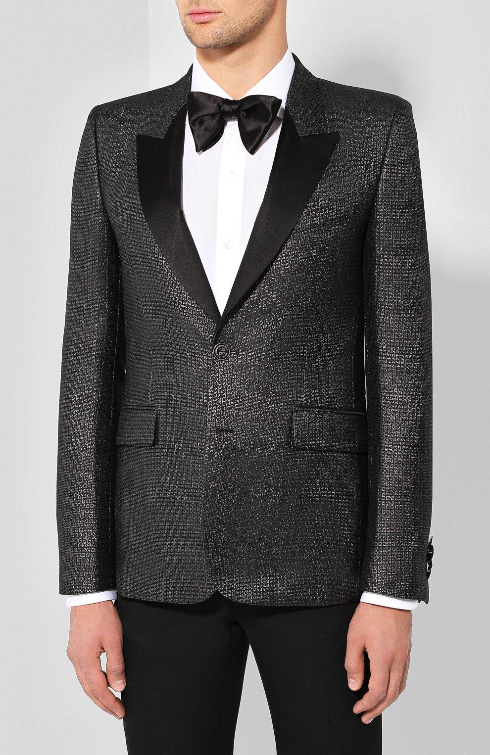 Пиджак Givenchy серебряный | Фото №3