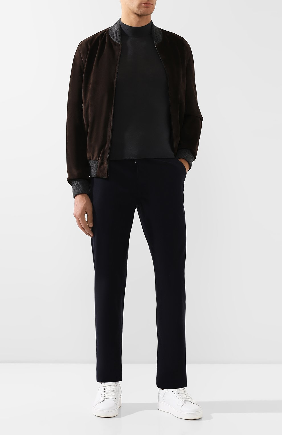 Мужские джинсы ZILLI темно-синего цвета, арт. M0S-D0091-C0CA1/S001 | Фото 2