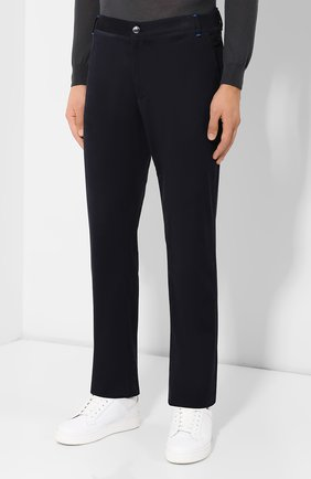 Мужские джинсы ZILLI темно-синего цвета, арт. M0S-D0091-C0CA1/S001 | Фото 3
