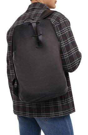 Мужской кожаный рюкзак BERLUTI черного цвета, арт. M183326 | Фото 2
