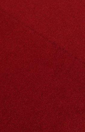 Мужской кашемировый шарф JOHNSTONS OF ELGIN бордового цвета, арт. WA000016 | Фото 2