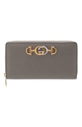 Кожаный кошелек Gucci Zumi | Фото №1