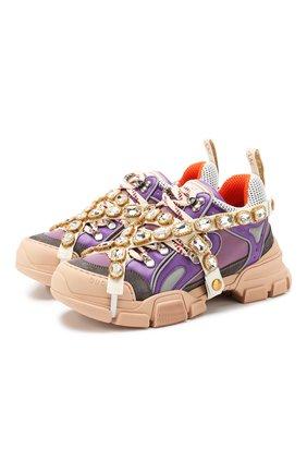 Комбинированные кроссовки Flashtrek  | Фото №1