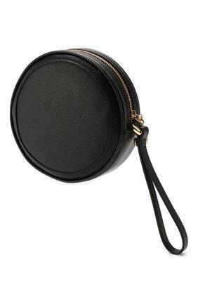 Женские кожаный футляр для монет ophidia GUCCI черного цвета, арт. 574841/DJ2DG | Фото 2