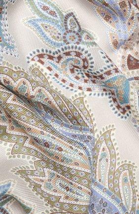 Женский платок из смеси кашемира и шелка MICHELE BINDA разноцветного цвета, арт. 25WS36350 | Фото 2