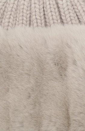 Шапка из смеси шерсти и вискозы   Фото №3