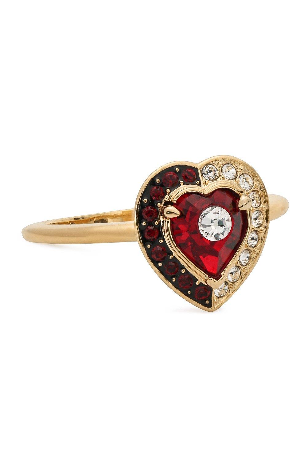 Женское кольцо black baroque SWAROVSKI золотого цвета, арт. 5489126 | Фото 1