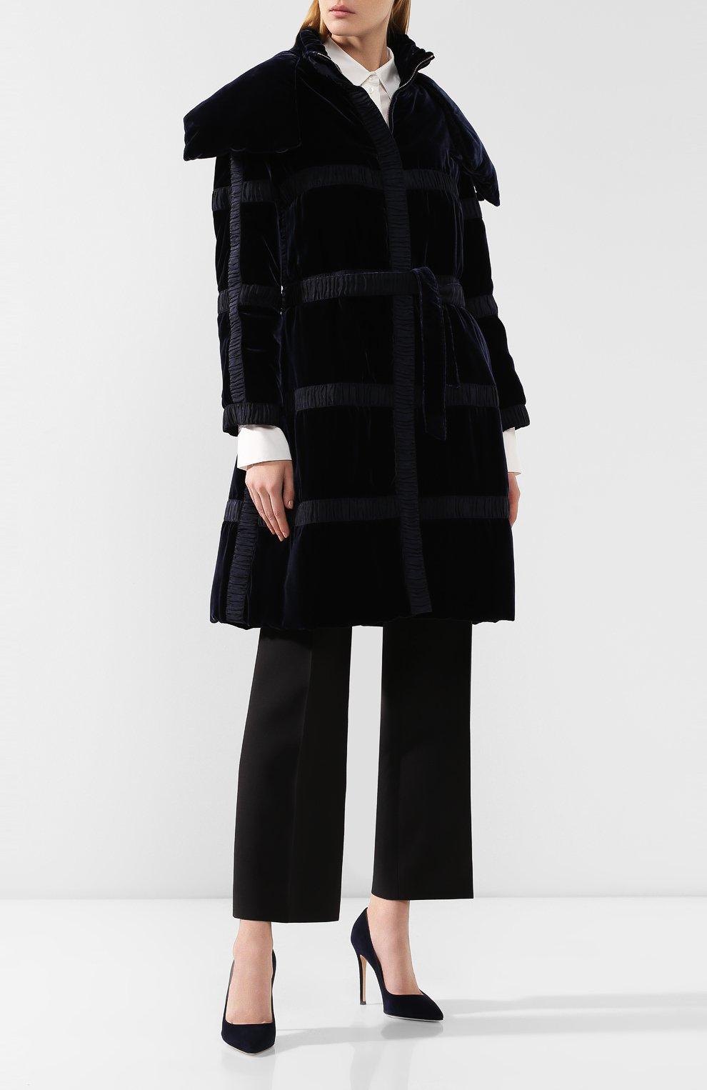 Пальто с поясом   Фото №2