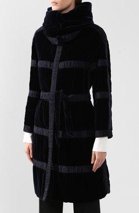 Пальто с поясом   Фото №3