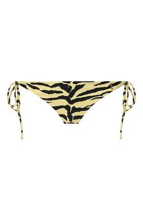 Женский плавки-бикини SAINT LAURENT желтого цвета, арт. 553627/Y317V | Фото 1