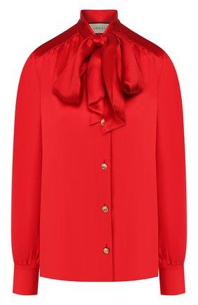 Блузка из смеси шелка и вискозы   Фото №1