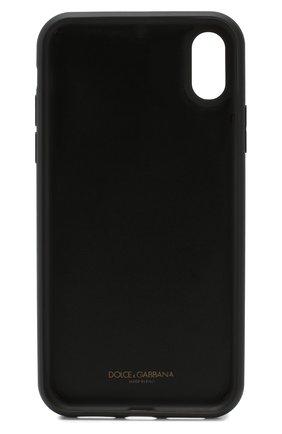 Мужской чехол для iphone xr DOLCE & GABBANA черного цвета, арт. BP2516/AA062 | Фото 2
