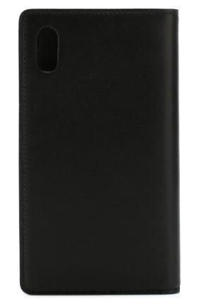 Мужской кожаный чехол для iphone x/xs DOLCE & GABBANA черного цвета, арт. BP2532/AZ607 | Фото 2