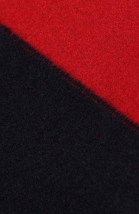 Мужской кашемировый шарф JOHNSTONS OF ELGIN темно-синего цвета, арт. WA000020 | Фото 2