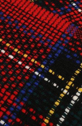 Мужской кашемировый шарф JOHNSTONS OF ELGIN красного цвета, арт. WA001229 | Фото 2