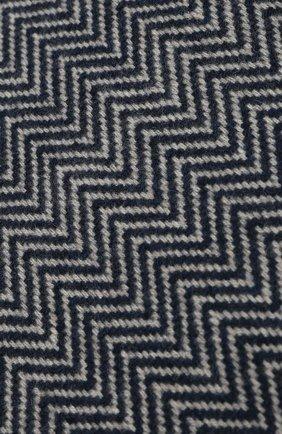 Мужской кашемировый шарф LORO PIANA синего цвета, арт. FAI2250 | Фото 2