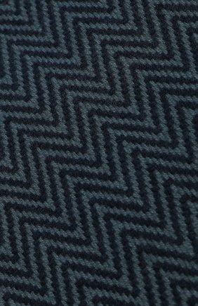Мужской кашемировый шарф LORO PIANA темно-синего цвета, арт. FAI2250 | Фото 2