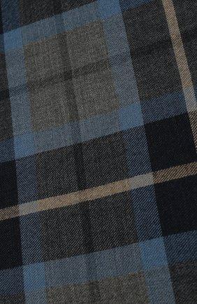 Мужской кашемировый шарф LORO PIANA синего цвета, арт. FAI7997 | Фото 2