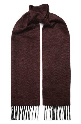 Мужской шарф из смеси шелка и кашемира CORNELIANI красного цвета, арт. 84B329-9829020/00 | Фото 1