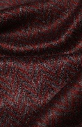 Мужской шарф из смеси шелка и кашемира CORNELIANI красного цвета, арт. 84B329-9829020/00 | Фото 2