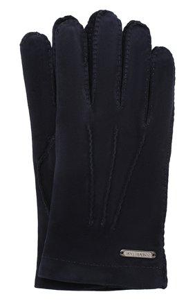 Замшевые перчатки   Фото №1