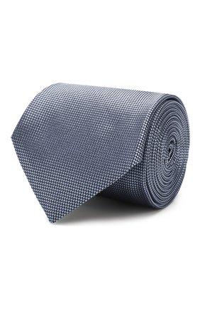Мужской шелковый галстук CORNELIANI синего цвета, арт. 84U302-9820302/00   Фото 1
