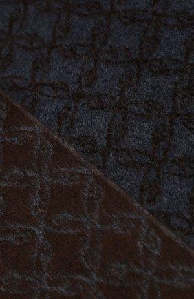 Мужской шарф из смеси шелка и кашемира BRIONI коричневого цвета, арт. 031E00/08382 | Фото 2