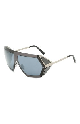 Мужские солнцезащитные очки PHILIPP PLEIN синего цвета, арт. UES0068 | Фото 1
