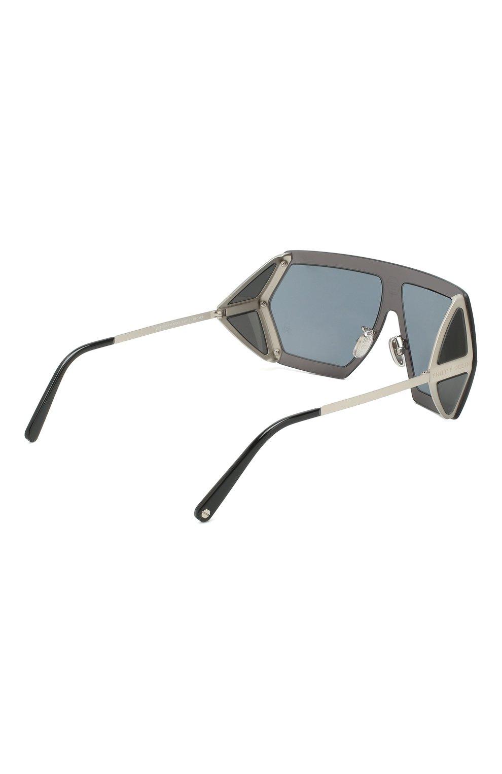 Мужские солнцезащитные очки PHILIPP PLEIN синего цвета, арт. UES0068 | Фото 3