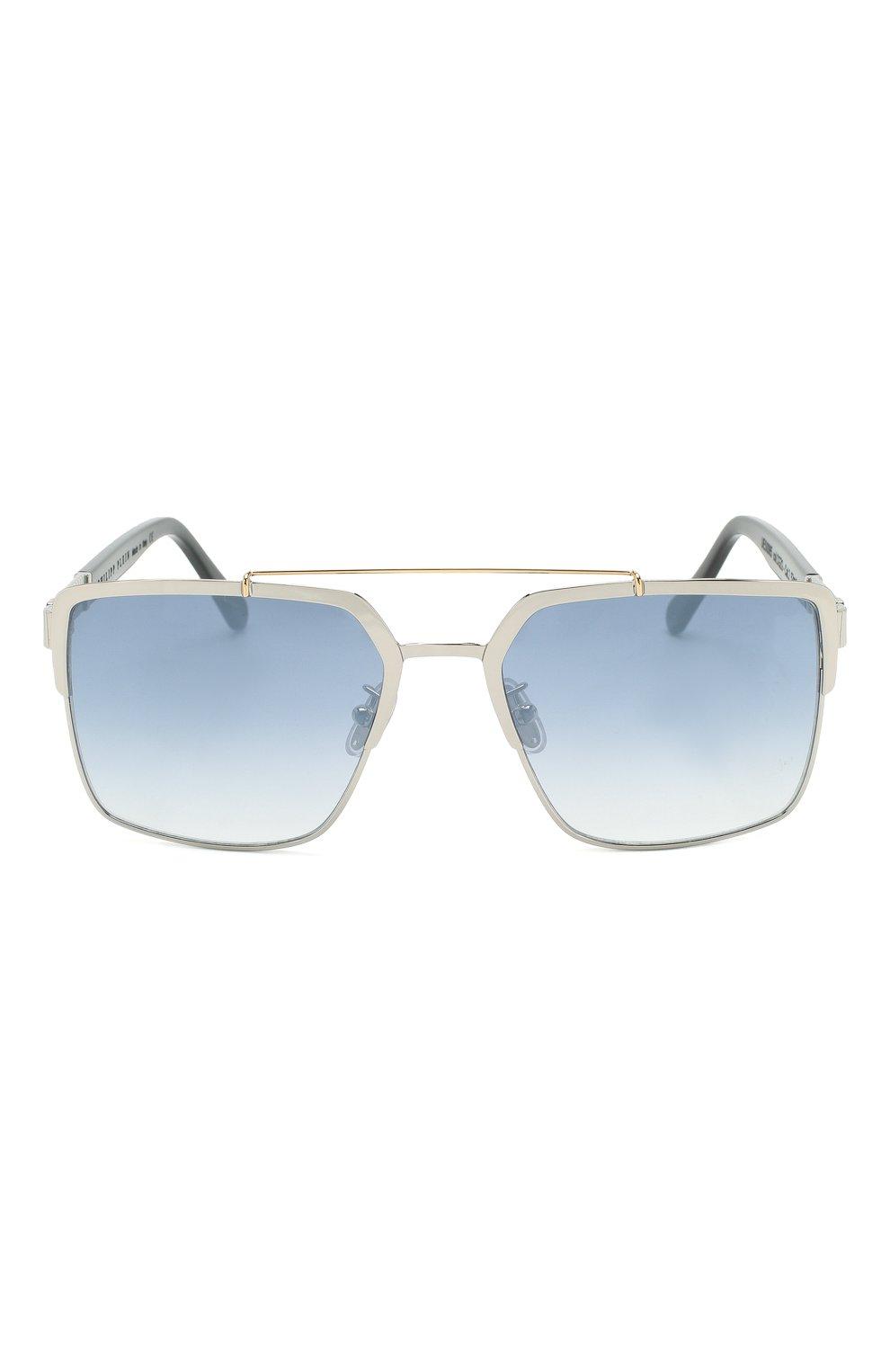 Мужские солнцезащитные очки PHILIPP PLEIN серого цвета, арт. UES0065 | Фото 2