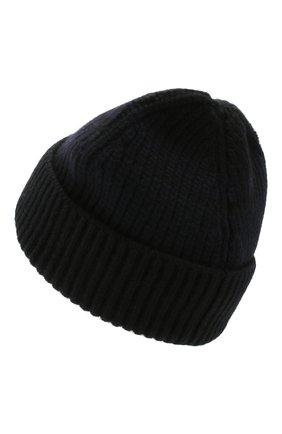 Мужская шерстяная шапка BILLIONAIRE черного цвета, арт. MAC0495 | Фото 2
