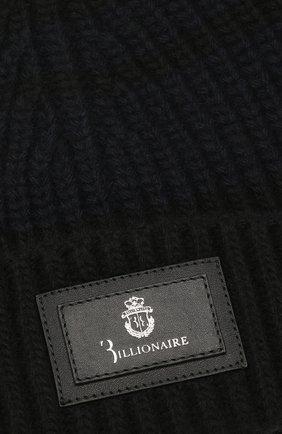 Мужская шерстяная шапка BILLIONAIRE черного цвета, арт. MAC0495 | Фото 3