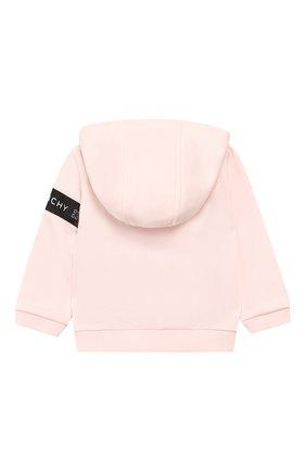 Комплект из кардигана и брюк Givenchy розового цвета | Фото №3