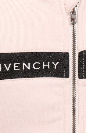 Комплект из кардигана и брюк Givenchy розового цвета | Фото №6