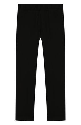 Детского брюки IL GUFO черного цвета, арт. A19PL161M0041/5А-8А | Фото 1