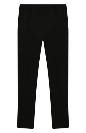 Детского брюки IL GUFO черного цвета, арт. A19PL161M0041/5А-8А | Фото 2