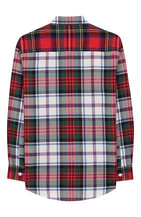 Детская хлопковая рубашка IL GUFO разноцветного цвета, арт. A19CL164C3109/5А-8А | Фото 2