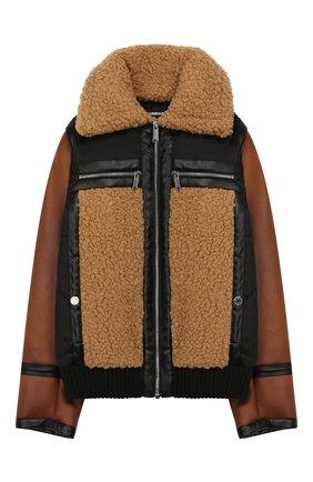 Куртка из эко-меха | Фото №1