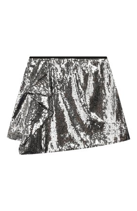 Детская юбка ALBERTA FERRETTI JUNIOR серебряного цвета, арт. 020728 | Фото 1