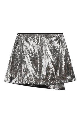 Детская юбка ALBERTA FERRETTI JUNIOR серебряного цвета, арт. 020728 | Фото 2