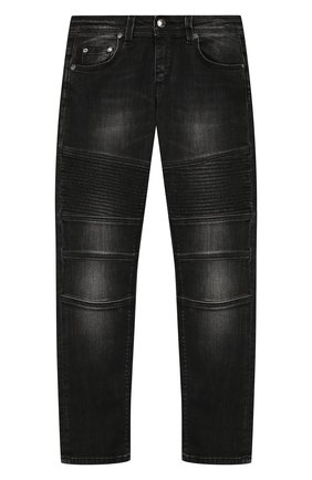 Детские джинсы NEIL BARRETT KIDS черного цвета, арт. 020556 | Фото 1