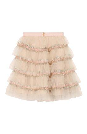 Детская юбка DESIGNERS CAT розового цвета, арт. 100000K01000373/4A-8A | Фото 2