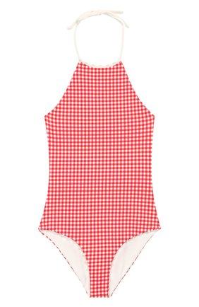 Детского слитный купальник MARYSIA BUMBY красного цвета, арт. B0068   Фото 1