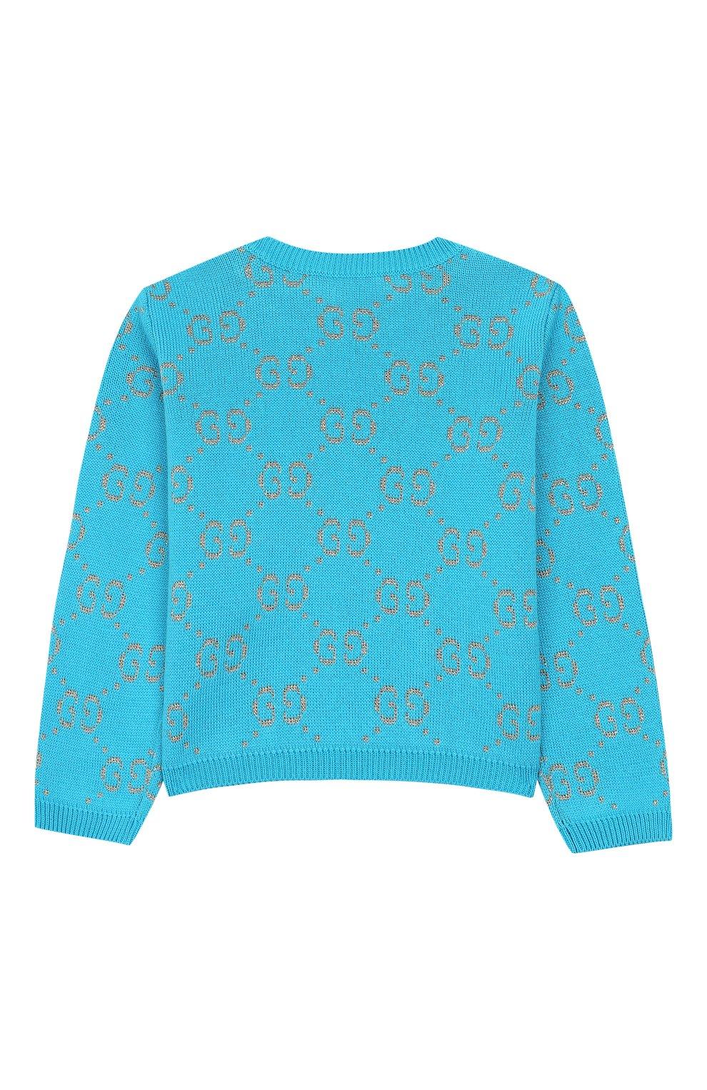 Хлопковый пуловер | Фото №2