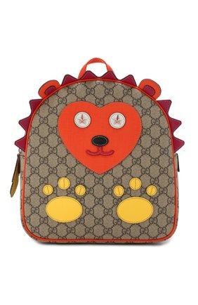 Детская рюкзак GUCCI разноцветного цвета, арт. 580405/9I69N | Фото 1
