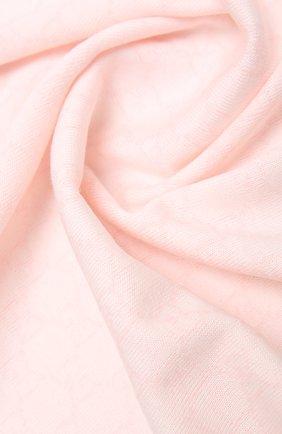 Детского шерстяное одеяло GUCCI розового цвета, арт. 417865/3K200 | Фото 2