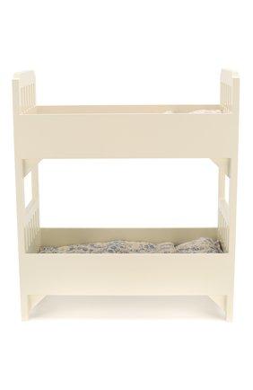 Детского игрушка двухъярусная кровать мини MAILEG белого цвета, арт. 11-6030-00 | Фото 2