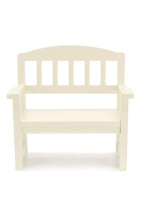 Детского игрушка деревянная скамейка MAILEG белого цвета, арт. 11-6211-00 | Фото 1