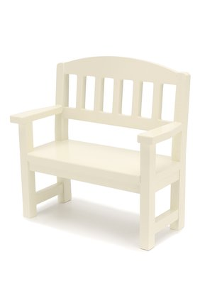 Детского игрушка деревянная скамейка MAILEG белого цвета, арт. 11-6211-00 | Фото 2