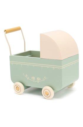 Детского игрушка коляска для новорожденных MAILEG голубого цвета, арт. 11-8001-01   Фото 1